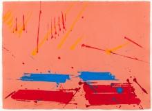 Markus Prachensky, La Battaglia di San Romano - London red