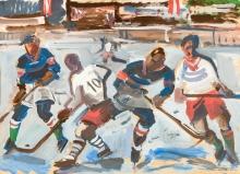 Wilhelm Kaufmann, Eishockeyspieler