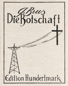 Günter Brus, Die Botschaft (6-teiliges Mappenwerk mit Vorsatzblatt)