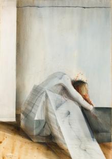 Erich Smodics, Glaspalast II (Triptychon/triptych)
