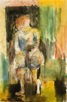 Ferdinand Stransky, Ohne Titel (Figur)
