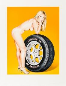 Mel Ramos, Tyra Tire