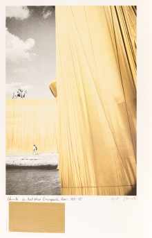 Christo (Christo Vladimirov und Jeanne-Claude Javacheff), Le Pont Neuf Empaqueté
