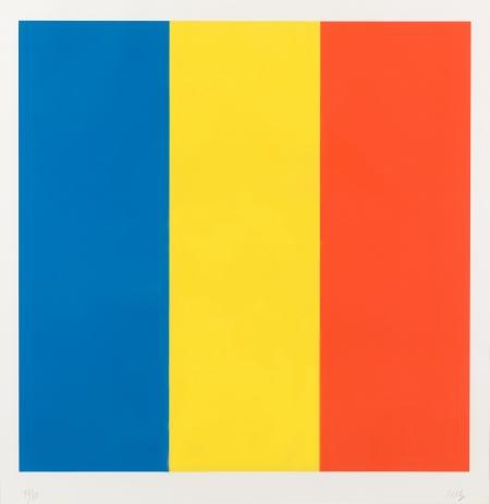 Ellsworth Kelly, Blue Yellow Red
