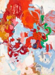 Heinz Kreutz, Variationen zu rot und blau