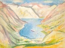 Georg Jung, Bucht von Barca