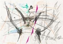 Christian Ludwig Attersee, Günter Brus, Hermann Nitsch, Dieter Roth, Dominik Steiger, Oswald Wiener, Ohne Titel (Gemeinschaftsarbeit) / untitled (collaborative work)