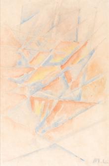Mikhail Fyodorovich Larionov, Rayonistische Komposition