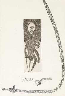 Johann Hauser, Schlange