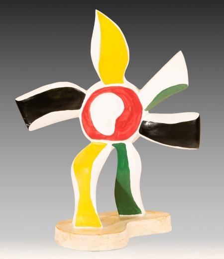 Nach Fernand Léger, La fleur qui marche