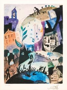 Salvador Dali, The Days of Spring