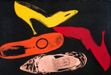 Andy Warhol, Shoes (aus der gleichnamigen 5-teiligen Serie)
