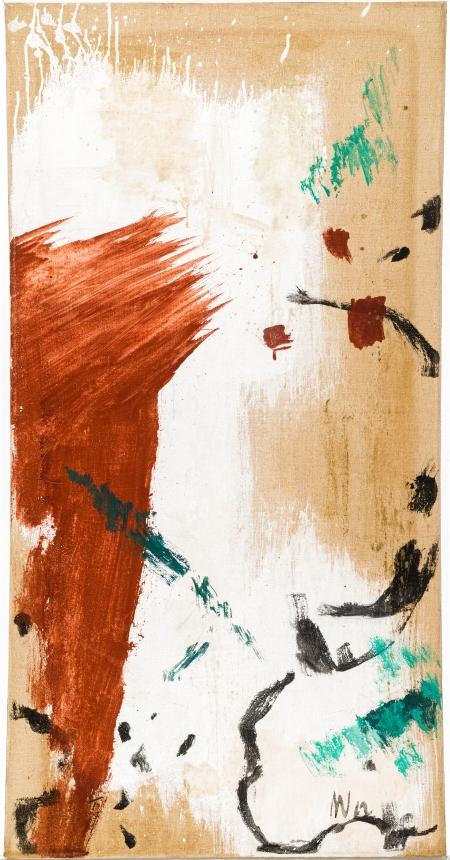 Max Weiler, Malerei aus Landschaftsteilen 1