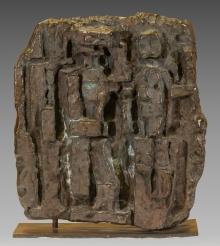 Fritz Wotruba, Relief mit drei Figuren