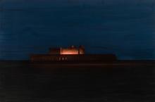 Eduard Angeli, Die Insel Santo Spirito (Nacht I)