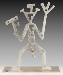 A. R. Penck, Stehende Figur
