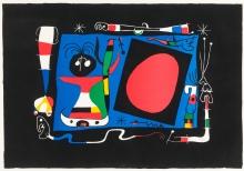 Joàn Miró, Femme au miroir (Frau im Spiegel)