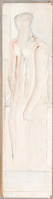 Oswald Oberhuber, Stehende Figur