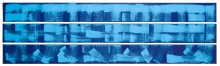 Claudia Hirtl, Ohne Titel (selbst / ich/ mond/ hellklar) - E 715 (Triptychon/triptych)