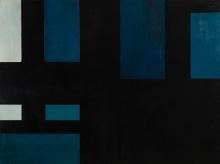Markus Prachensky, Schwarz und blaue Konstruktion