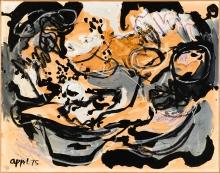 Karel Appel, Komposition