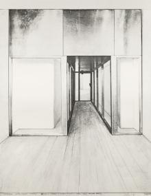 Christo (Christo Vladimirov und Jeanne-Claude Javacheff), Corridor Store Front Project (Monuments)