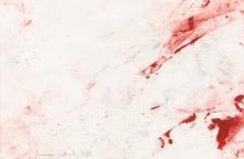 Hermann Nitsch, Ohne Titel (aus der Malaktion in der Wiener Secession, 1987)