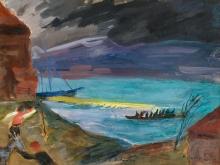 Oskar Laske, Dalmatien