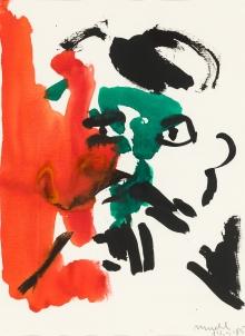 Otto Mühl, Ohne Titel (Stalin) / untitled (Stalin)