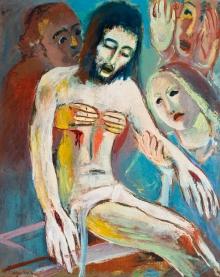 Lois Pregartbauer, Die Beweinung Christi