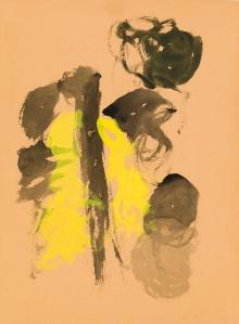 Lucio Fontana, Ohne Titel / untitled