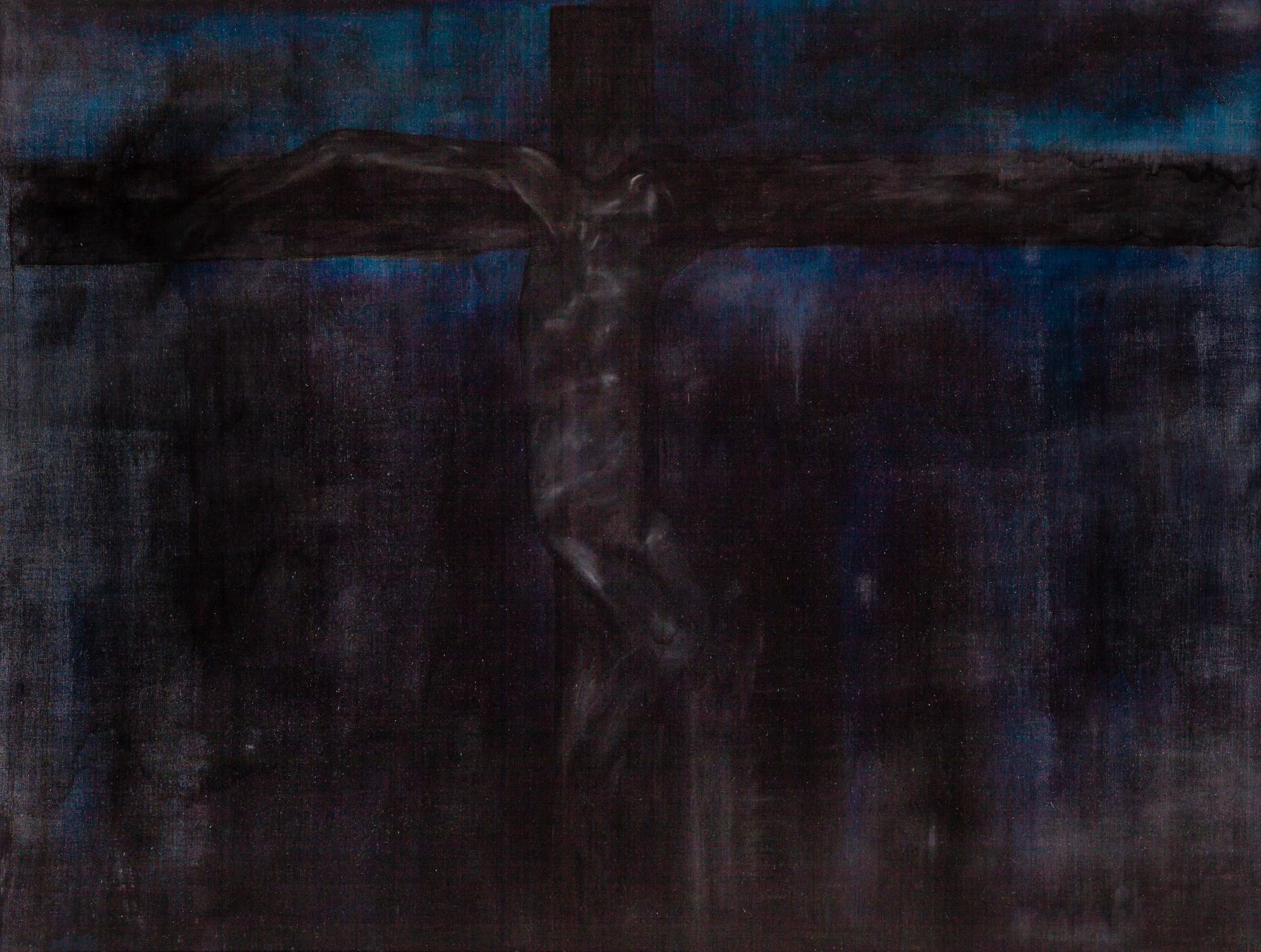 Walter Navratil, Blaue Kreuzigung