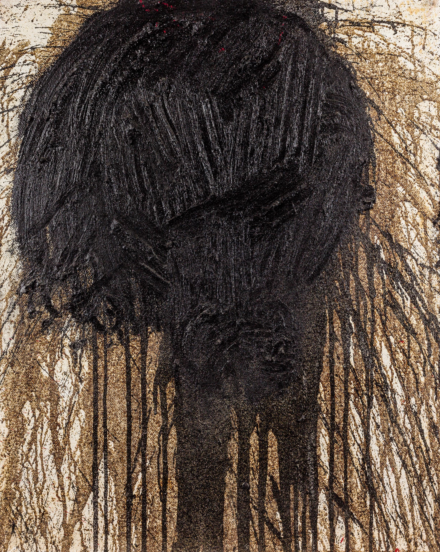 Hermann Nitsch, (ohne Titel) (Schüttbild)