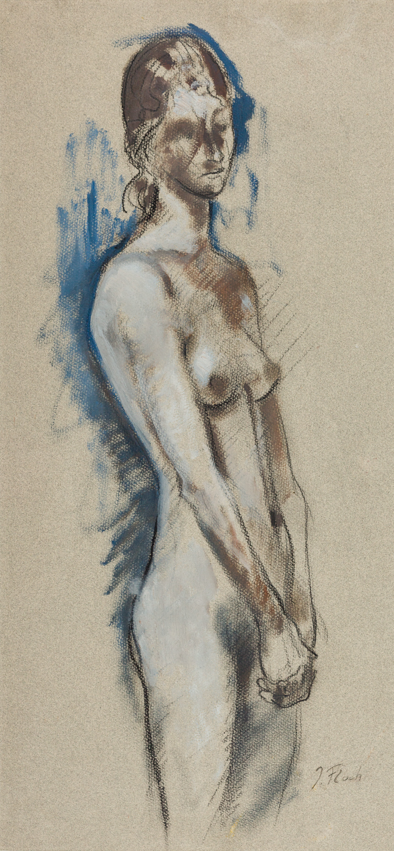Josef Floch, Stehender weiblicher Akt