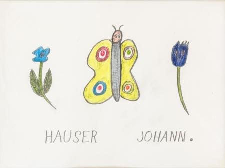 Johann Hauser, Schmetterling