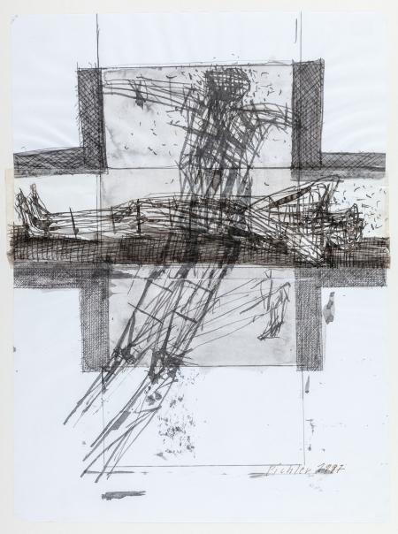 Walter Pichler, Entwurf Die letzten Tage der Menschheit