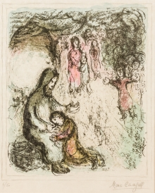 Marc Chagall, Jakobs Segen (6/50)