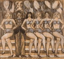 Wolfgang Herzig, Die Tänzerinnen von Folies Bergère