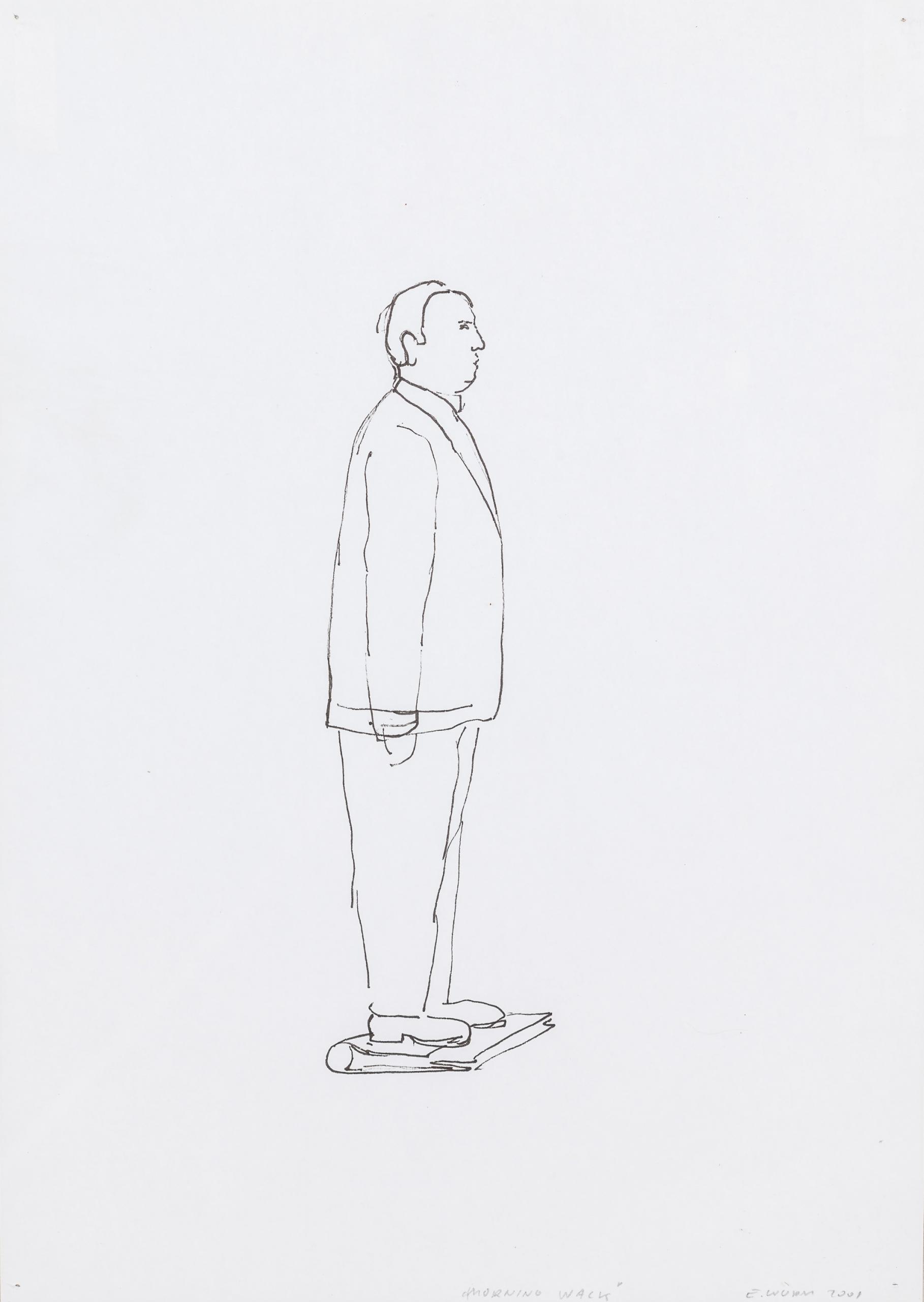 Erwin Wurm, Morning Wack