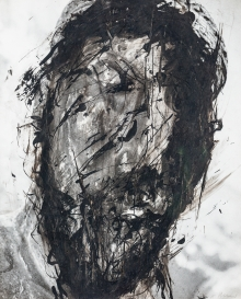 Arnulf Rainer, Christus-Überzeichnung