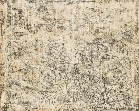 Franz Part, Landschaft mit Figuren