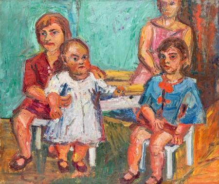 Herbert Boeckl, Vier Töchter des Künstlers