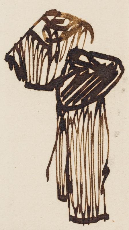 Egon Schiele, (ohne Titel)