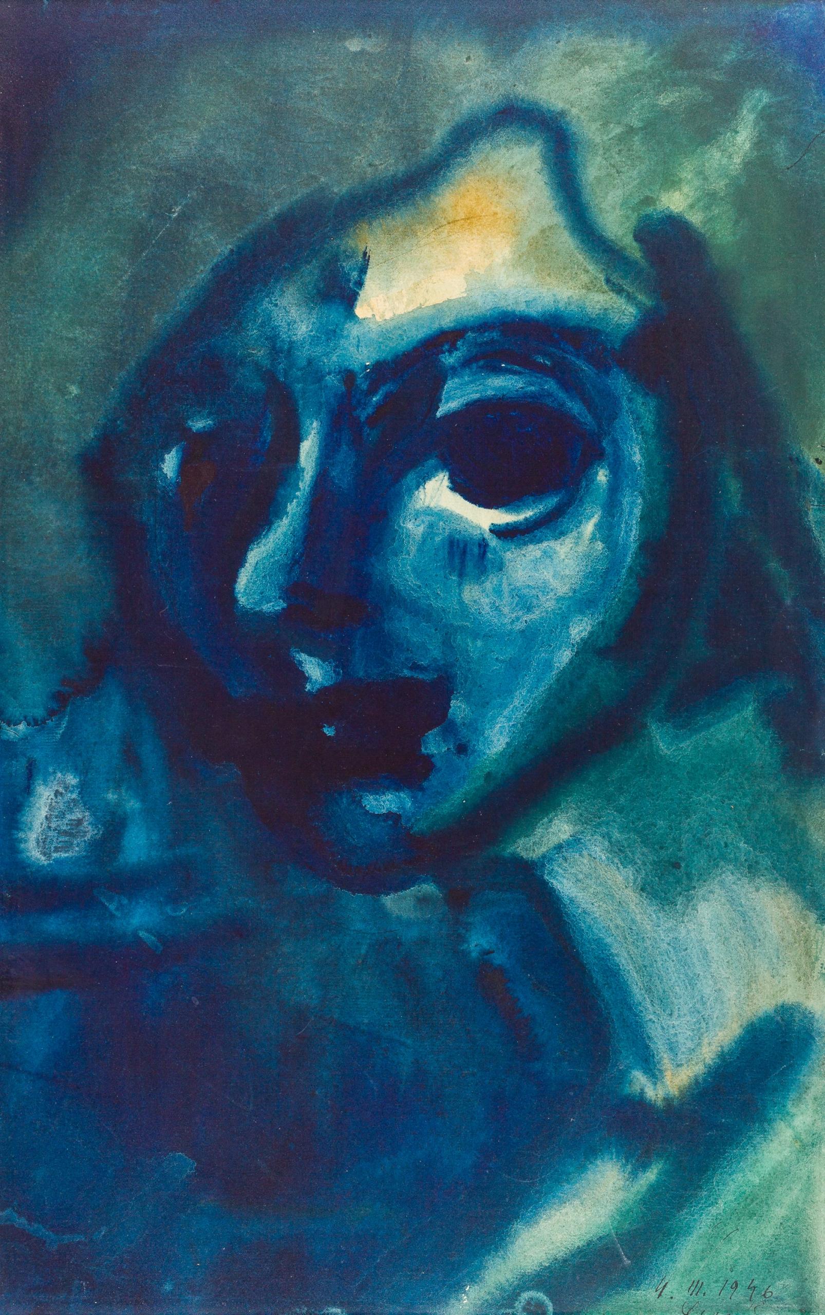 Ernst Fuchs, (ohne Titel)