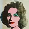 Andy Warhol, Marilyn, (rückseitig Liz Taylor)