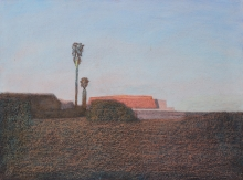 Eduard Angeli, Wüstenlandschaft