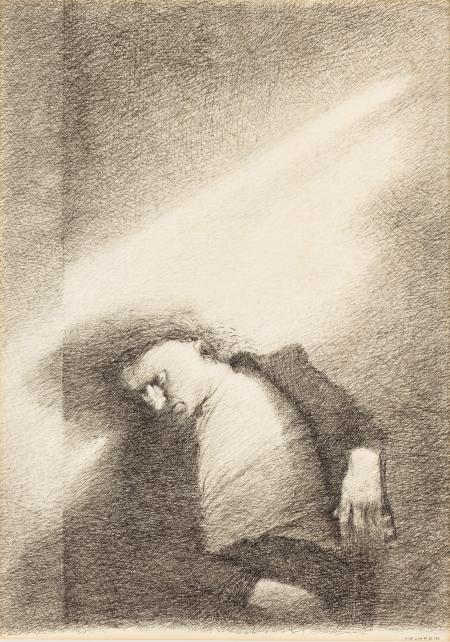 Gottfried Helnwein, (ohne Titel)