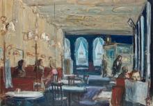 Georg Eisler, Café Sperl