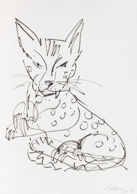 Herbert Brandl, Katze